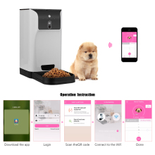 Automatic 6L Storage Pet Feeder with Camera Voice Recorder