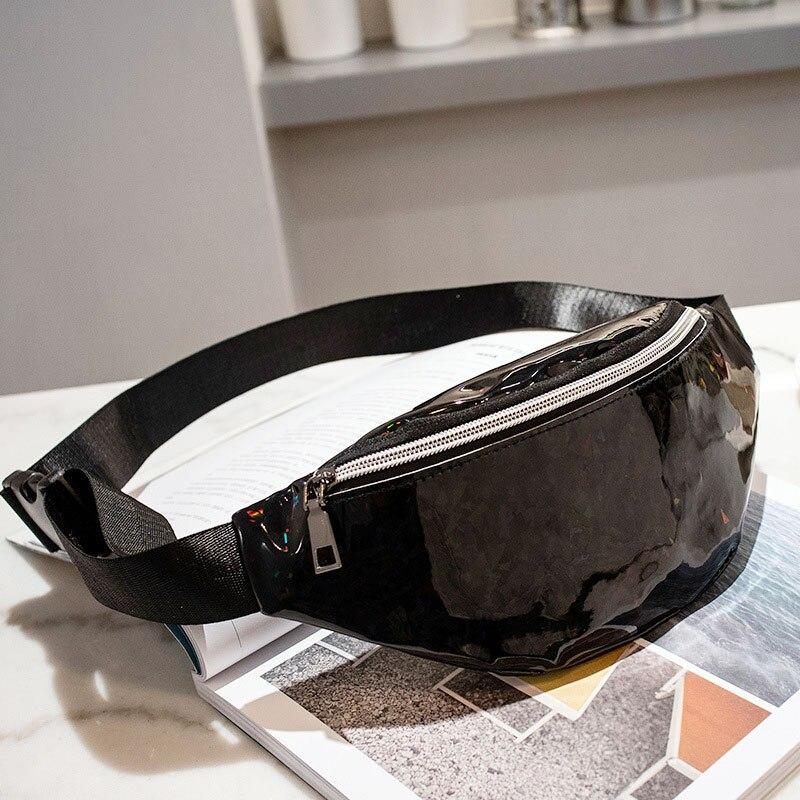 Dropwow AIREEBAY Women Fashion Waist Bag Hologram Fanny Pack ... 49865b1c9984