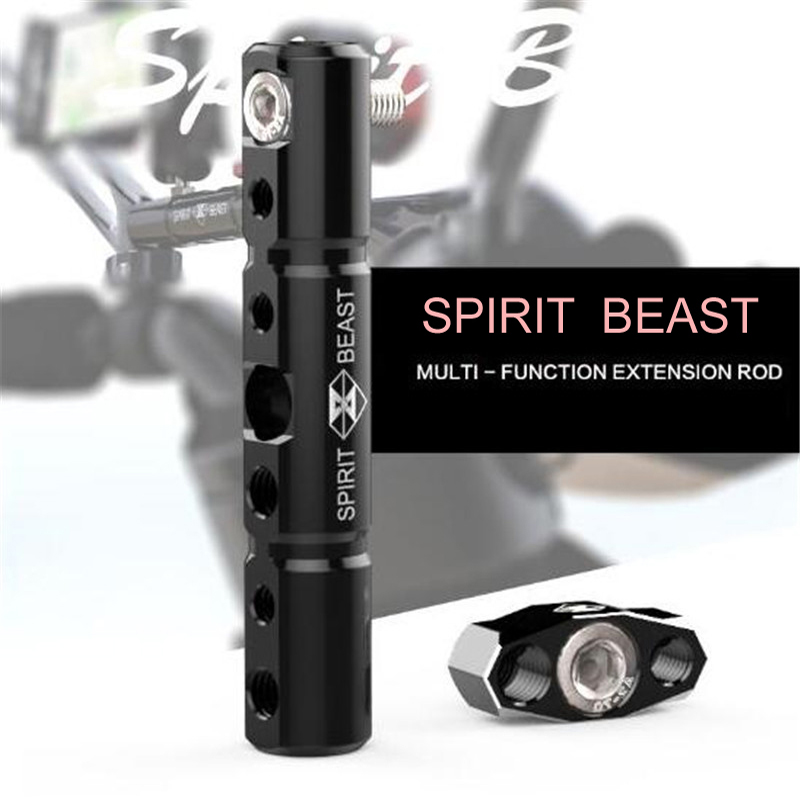 SPIRIT BEAST Electric vehicle accessories multi - functional extension bracket lighting stent motorcycle modified lighting stent велотренажер spirit fitness xbr25 2017