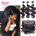 Peruvian Body Wave With Closure Peruvian Virgin Hair With Closure Human Hair Bundles With Frontal Ali Julia Hair With Closure
