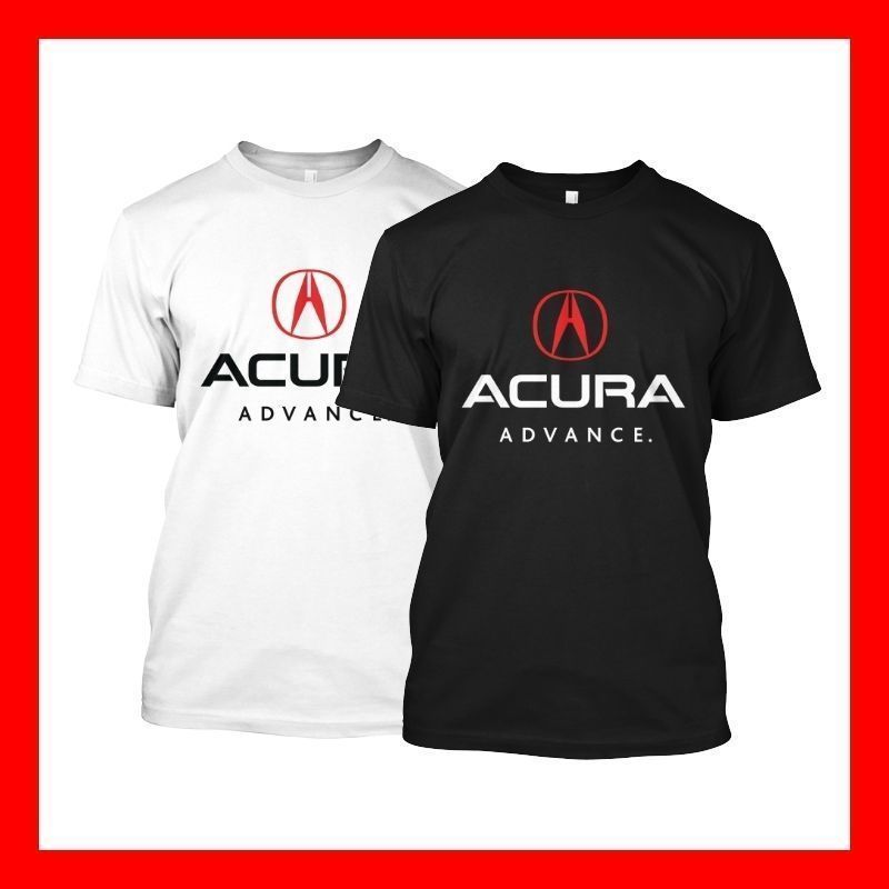 Acura Advance Package TLX Funny Black White T Shirt Shirt