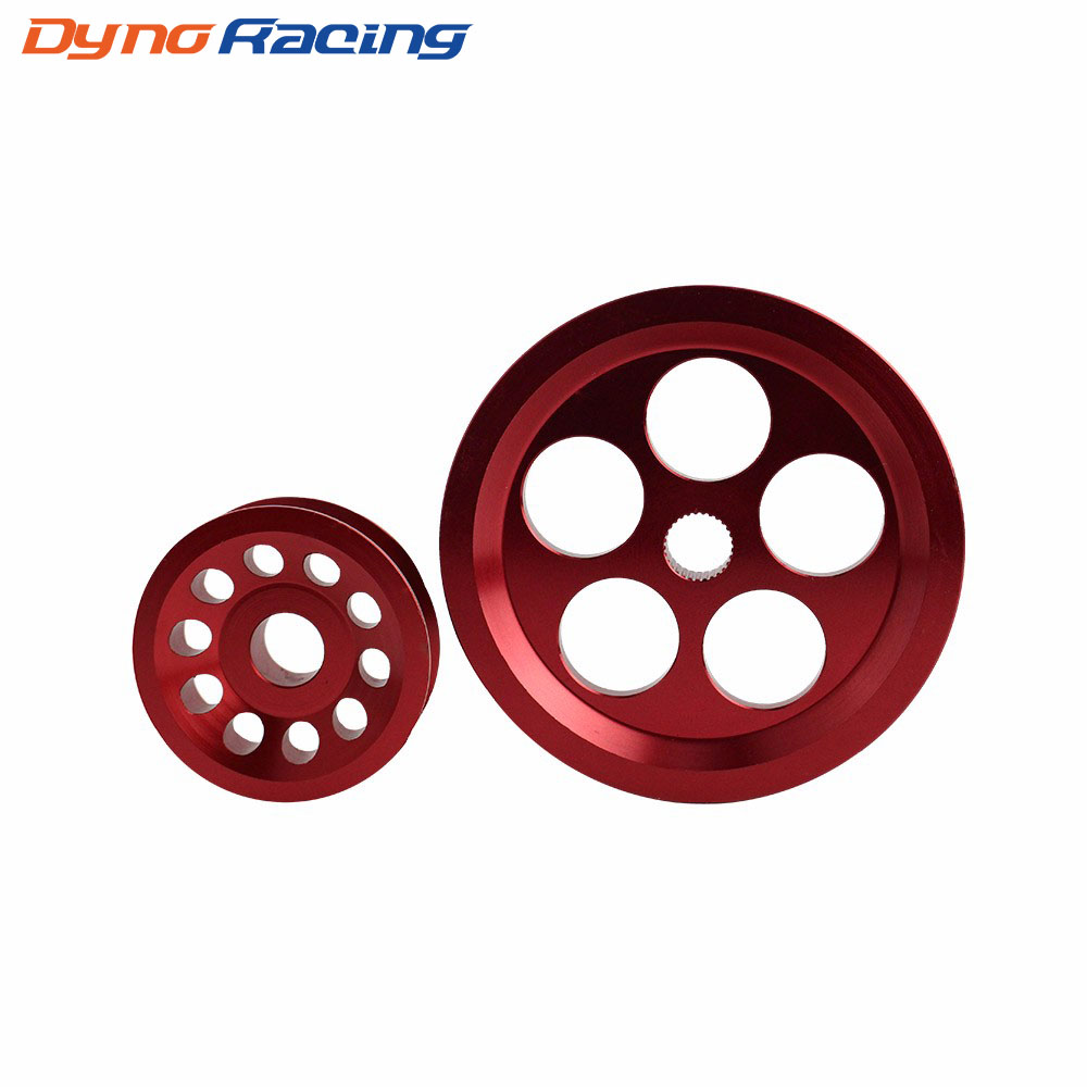 Car Underdrive Crank Pulley for <font><b>Honda</b></font> <font><b>Civic</b></font> 92-00 <font><b>B16A</b></font> Engine Crank Shaft Case Harmonic Balancer Pulley Wheel YC100815 image