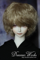 1/3 scale BJD doll wig short hair for DIY BJD/SD accessory.Not included doll,clothes,shoes,and other accessories 17C3262