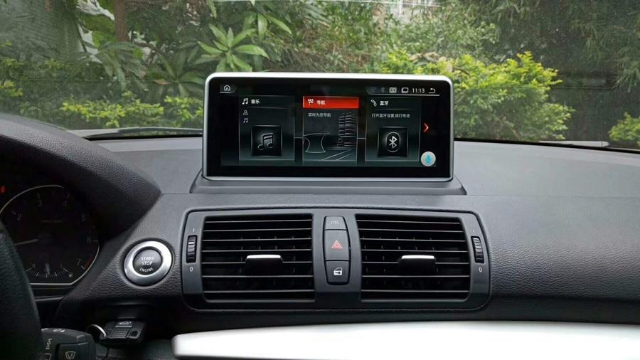 Voiture de luxe Anti-réflexion écran android 9.0 pour BMW E87 2005-2012 Bluetooth Navigation voiture gps 1080P carplay multimédia