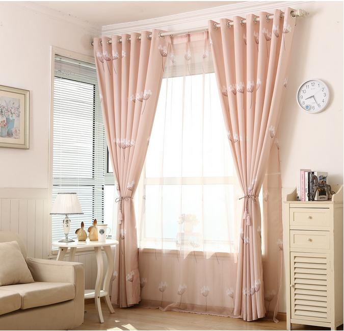 Window Curtain Set Custom Made 2 Pcs Blackout Curtains For