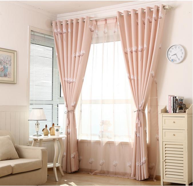 Window curtain set custom made 2 pcs blackout curtains for for Custom made window curtains