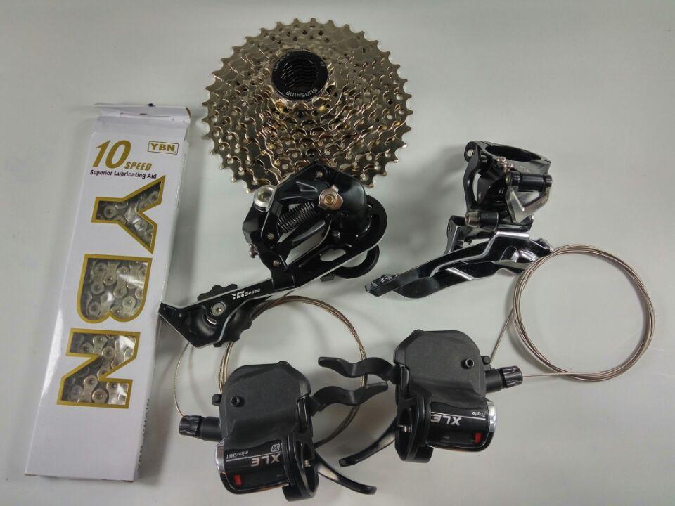 Freies verschiffen Microshift XCD XLE 30 geschwindigkeitsumwerfer - Radfahren - Foto 4
