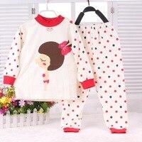 2015 New Infant Girl Clothes Boys Girls Sleep Coats Set Baby Girl Cute Pajamas Suit Newborn