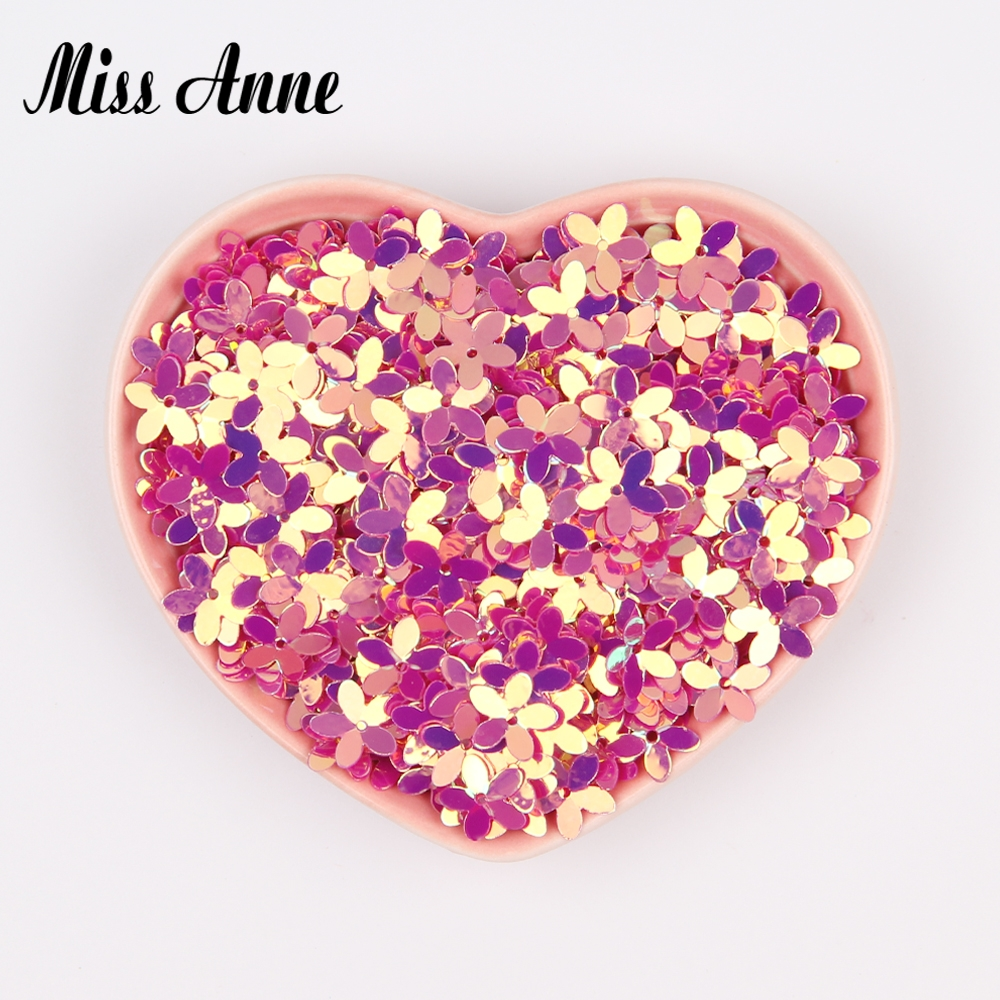 Aliexpress Buy 10mm Sequin Flowers For Crafts Clothes Bag