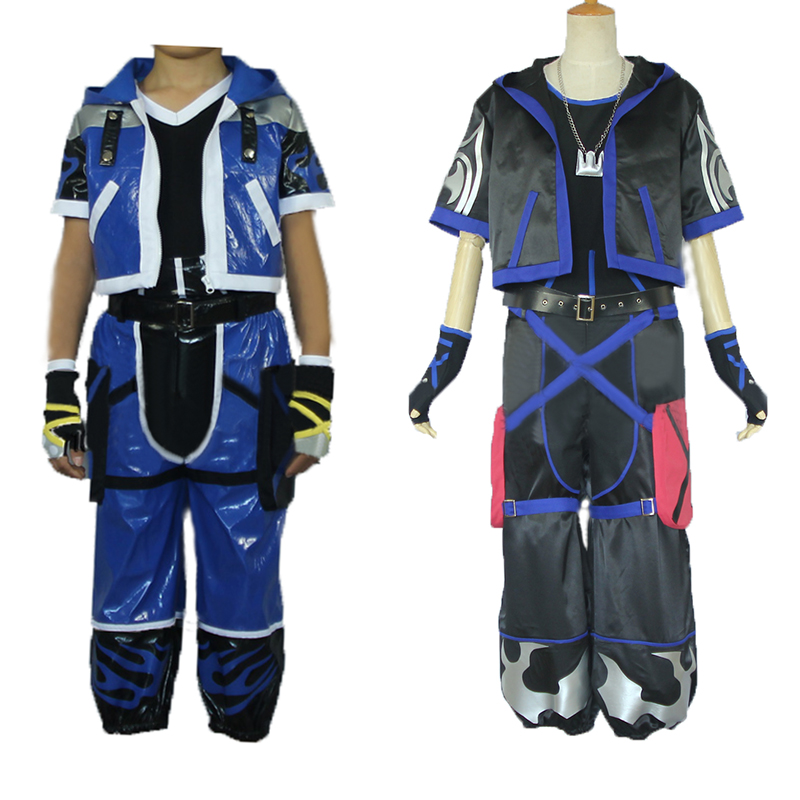Anime Kingdom Hearts Cosplay Kingdom Hearts Sora cosplay costume 2 styles