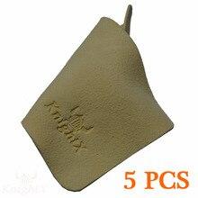 KnightX 5 pcs Veados pele Limpador Limpo pano Óculos De lente da câmera bomba de resina de vidro para Para nikon optical filtro UV CPL microfibra