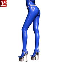 купить MEISE PVC Shiny Pencil Pants Faux Leather Zipper Open U Crotch Full Length Pants Moto Biker Tight Pencil Hot Pants Plus Size F58 по цене 1513.65 рублей