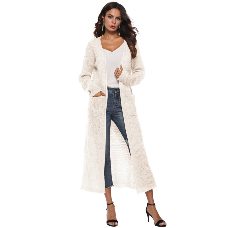 Womens Cardigan Plus Size White Sweater Cardigans Invierno Mujer 2019 Autumn Coat Mohair Oversized Casual Solid Sweaters