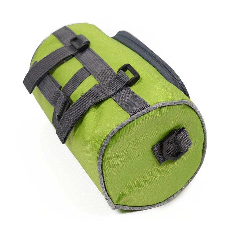 Wodoodporny Ekran Dotykowy Sakwy Rowerowe Rower Górski Rower Torby Phone Bag Case Rower Szosowy Rura Przednia Kierownica Torba Cylindra 31
