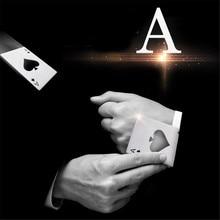 Black Stainless Steel Ace of Spades Card Novelty Beer Bottle Opener Poker Wallet Bar Tools