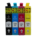T1291 Refillable Ink Cartridges for Epson SX230 SX235W SX430W SX435W SX440W SX445W printer One Set 4 Pcs