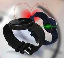 Bluetooth Smart Uhr Sport Armband Pulsmesser Anruf SMS Erinnern IP67 Wasserdicht Pedometer für Android iOS Smartwatch