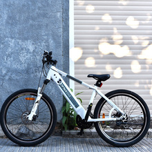 Free shopping 26inch lithium battery electric smart bicycle disc brake speed damping mountain bike assisted bicycle hybrid EBIKE