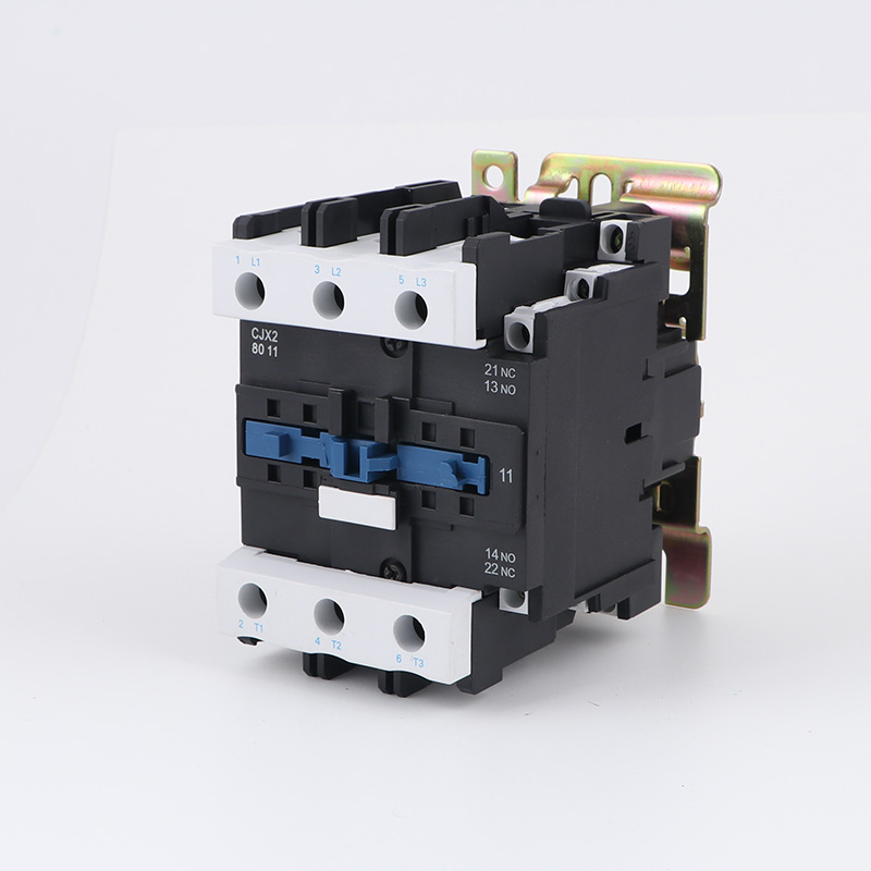 AC contactor CJX2-8011 three-phase contactor 380V 220V80A guarantee silver point LC1-D80 sayoon dc 12v contactor czwt150a contactor with switching phase small volume large load capacity long service life