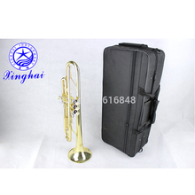 Trumpet Gold Small Bb Trompete Musical Instrument The For Beginners Bb Trumpet Wholesale The Surface The Paint Of Xinghai XT-120