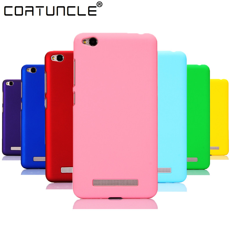 buy online 2d966 7d389 US $0.99 15% OFF|Aliexpress.com : Buy Phone Case For Fundas Xiaomi Redmi 4X  Case 360 Matte Hard plastic PC Candy Color Back Cover Xiaomi Redmi 4A 3S ...