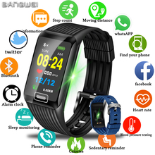 2019 LIGE New Smart Bracelet Men Women Fitness Tracker Heart Rate Blood Pressure Monitor Smart Watch Sport Watch for IOS Android lige new man smart sports bracelet women waterproof fitness watch blood pressure heart rate monitor smart watch for android ios
