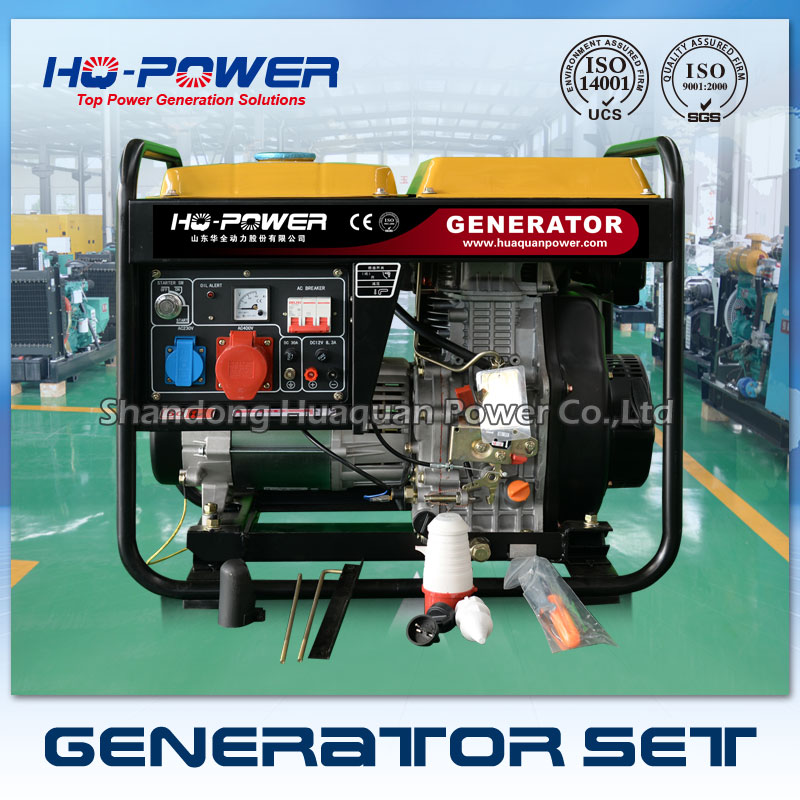 5kw price mini generator 5000 w mini all in one genset diesel