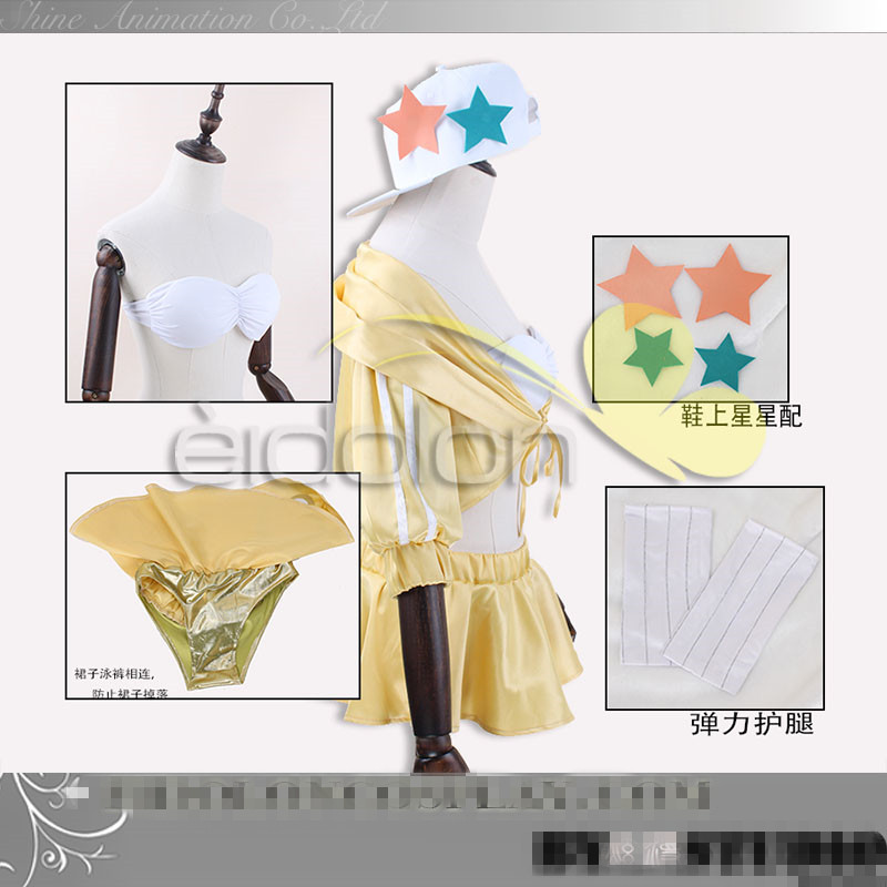 BB FGO Cosplay Fate/Grand Order BB swimsuit cosplay costume sexy halloween costumes gift 2