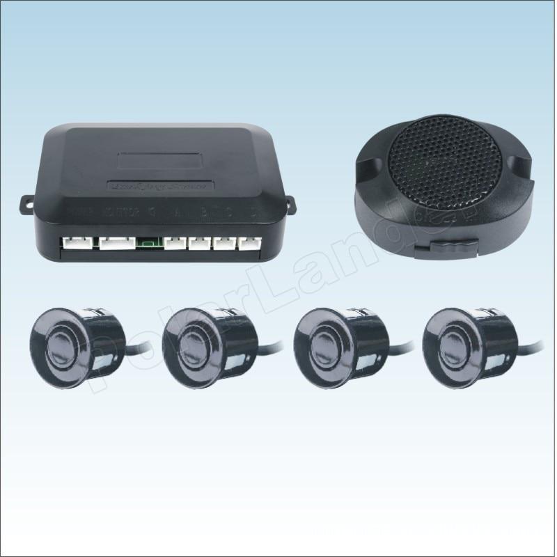 44 farben zu wählen 4 Sensoren Summer Parkplatz Sensor Kit Rückunterstützungsradar-ton alarm Anzeige 12 v