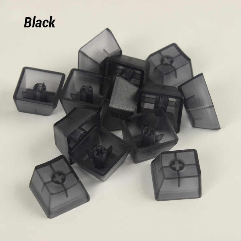 ABS Leeren Klare Blau Translucious Keycap 1u Keycap Für mx-schalter Mechanische Tastatur Schalter Tester