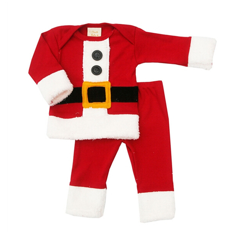 children christmas clothing set baby boys and girls christmas suit and dress santa claus costumes newborn enfant clothes in clothing sets from mother kids