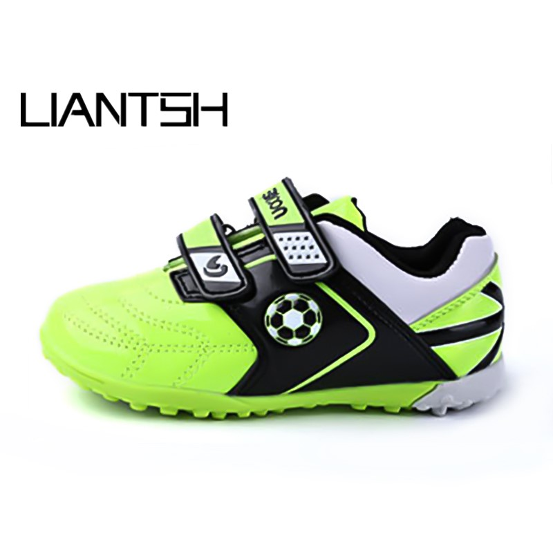 Football Shoes for girls boys chuteira futebol Sneakers Men Soccer Boots outdoor children Athletic futbol Soccer kids Cleats Soccer Shoes     - title=