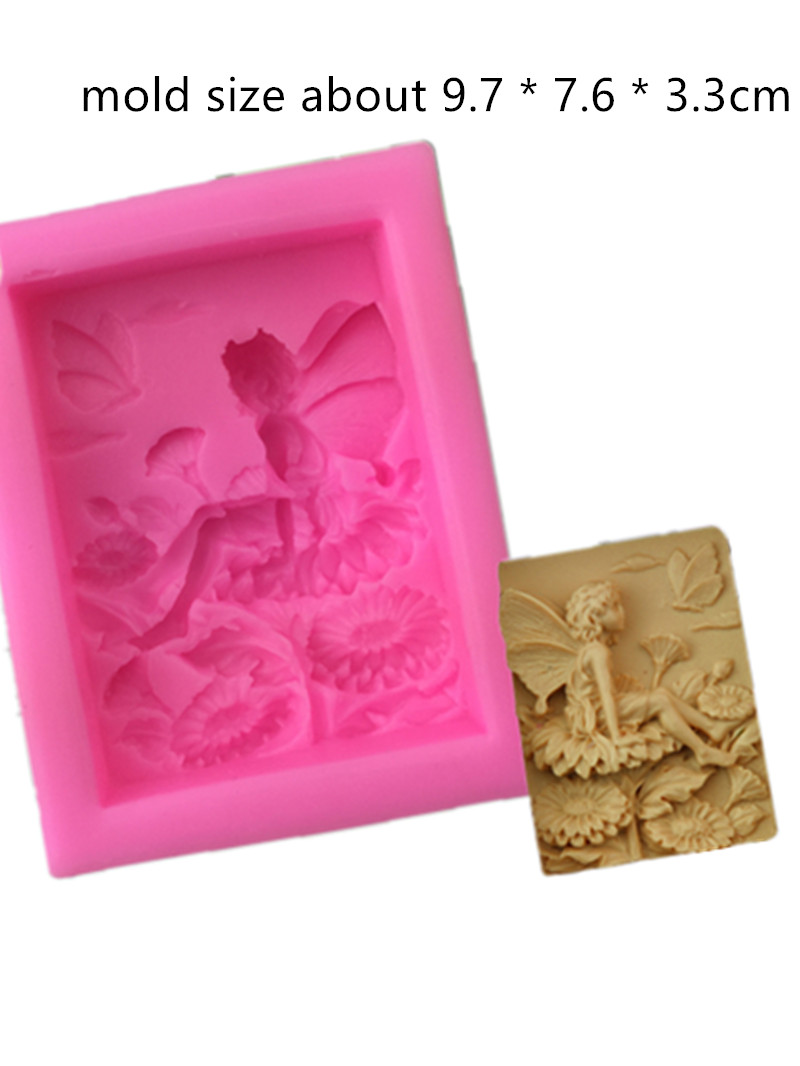 Lotus Flower Pattern handmade soap mould DIY Craft Bath Soap Making Silicone Mold
