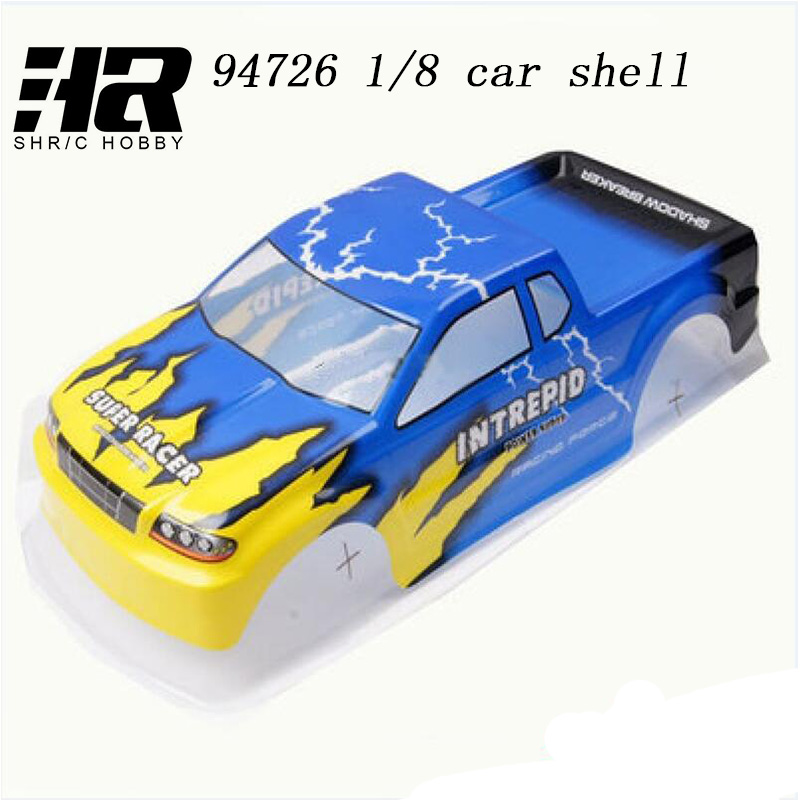 Free shipping RC car 1/8 HSP unlimited 94762 car shell and so on 475Mx185MM big 1: 8 climbing oil tanker car shell rc car hsp unlimited 1 10 off road vehicle shell 94107pro original car body 10749 no