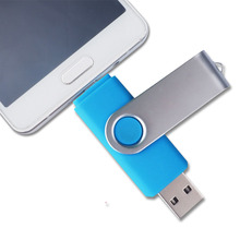 Hot sale 4g 8g 16g 32g 64g double slider usb flash drives dual multifunctional wireless phone pendrive computer usb disk