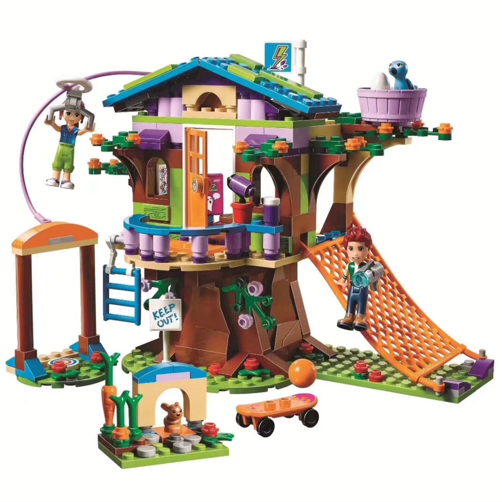 Legoings Friends Mias Adventure Camp Tree Friendship House 41335 Building Set Toys For Children ...