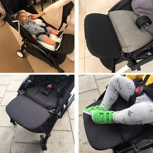 Image 2 - Stroller Accessories for Babyzen Yoyo+ Footrest Baby Time Yoya Foot Rest Infant Carriages Feet Extension Pram Foot board 21Cm