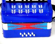 Pequeño Órgano Eléctrico/17 Clave 8 Bass Acordeón Educativos Juguete para Niños de Instrumentos Musicales de Percusión Band/Piano Acordeón