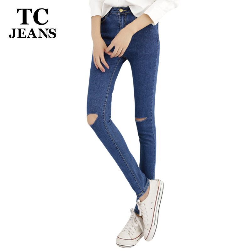 TC 2017 Women Skinny Jeans New Fall Fashs