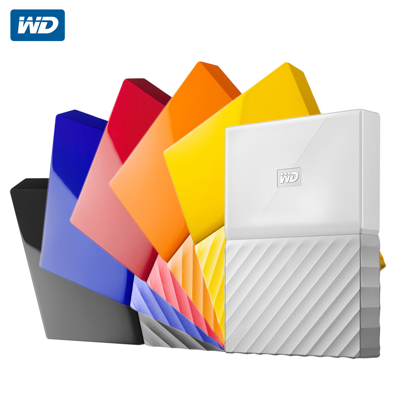US $59 09 18% OFF|Western Digital My Passport HDD 1TB 2TB 4TB USB 3 0  Portable External Hard Drive Disk with HDD Cable Windows Mac Free  Shipping-in