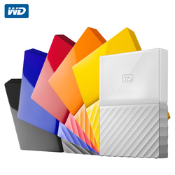 Western Digital WD портативный жесткий диск 1 ТБ 2 ТБ 4 ТБ My Passport USB 3,0 внешний жесткий диск с кабелем HDD для Windows Mac