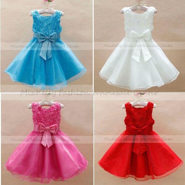 f696d0045d6e wholesale 2014 Fashion Baby girls Princess wedding party flower ...