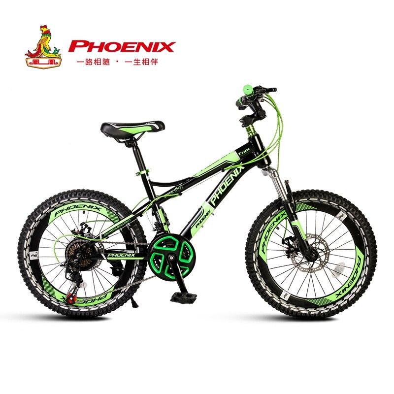 Phoenix haute qualité enfants vélo Durable en aluminium léger enfants vélo 18 20 22 pouces unique vitesse 21 vitesse course pneus
