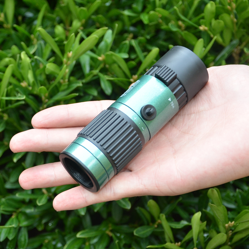 MINI Monocular Green Zoom BAK4 Maritime Pocket HD Telescope Spyglass Spotting Scope mini pocket monocular telescope binocular