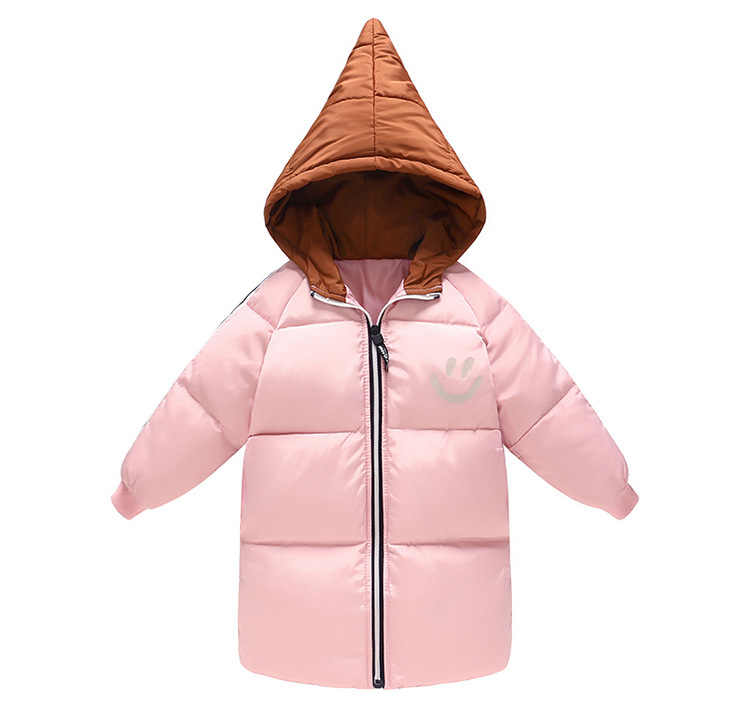 7626cbbb3b262 Kids Coats 2018 new Winter Fashion Warm Coat Baby Girl Casual down Jacket  Boy Oure Cotton
