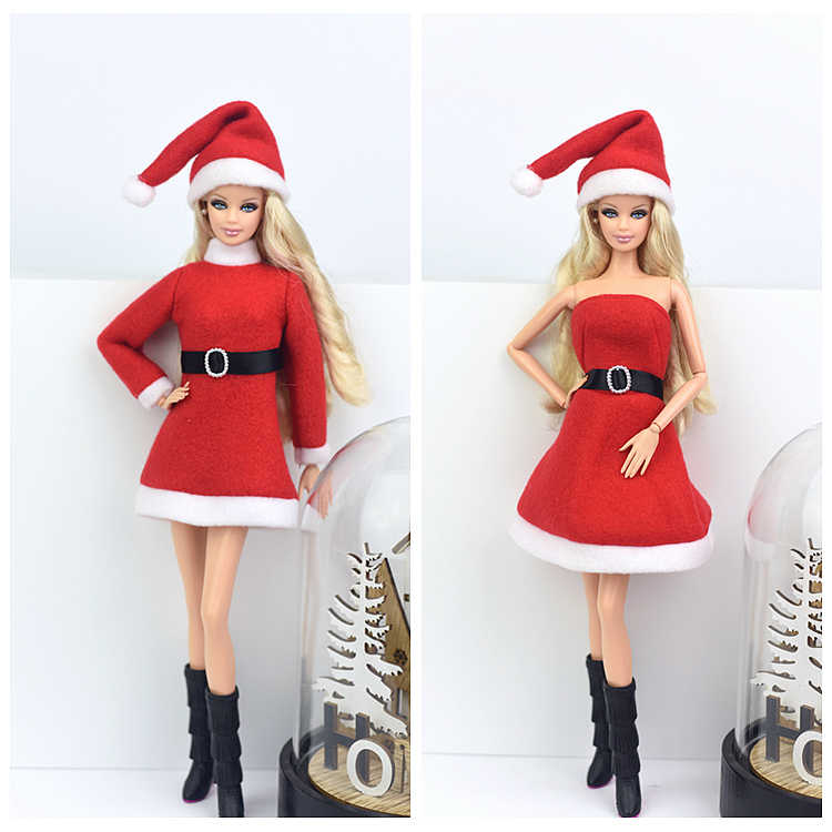 f32d456cb Detail Feedback Questions about Hat + Dress + Boots   Plush Winter ...
