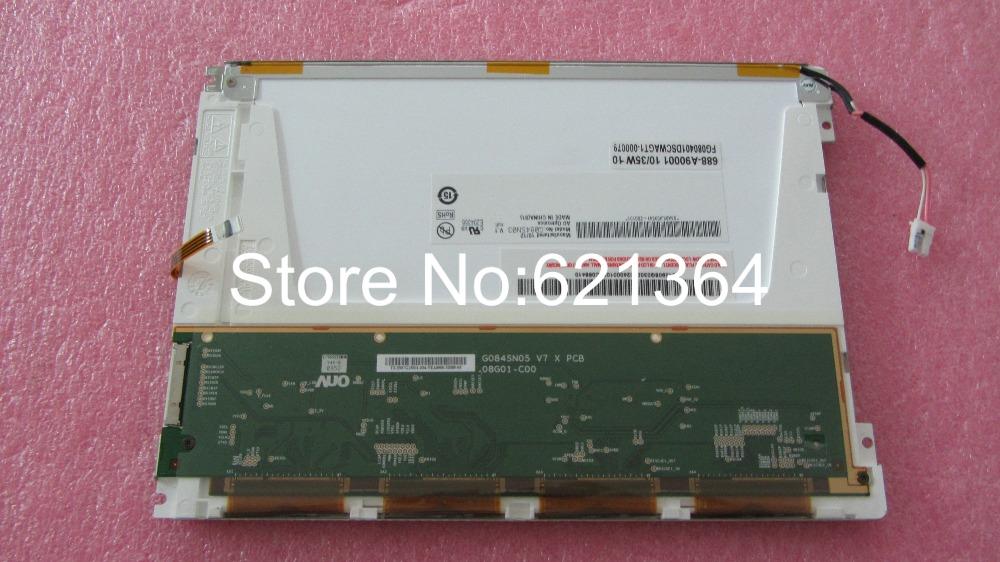 best price and quality G084SN03 V.1  industrial LCD Displaybest price and quality G084SN03 V.1  industrial LCD Display