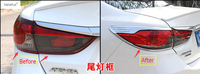Accessories For Mazda 6 Sedan 2013 2014 2015 Rear Tail Tailgate Light Lamp Taillight Molding Cover Kit Trim A Set