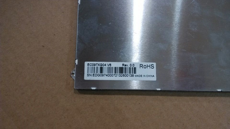 New 9.7 -inch tablet LCD screen ec097xg04 V6 ec097xg04 V8 free shipping free shipping original 9 inch lcd screen cable numbers kr090lb3s 1030300647 40pin
