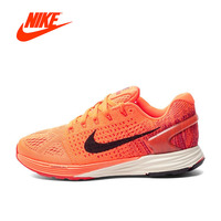 Original New Authentic Breathable Official NIKE LunarGlide7 Women's Running Shoes Sneakers Classic Athletic Shoes Tennis Shoes